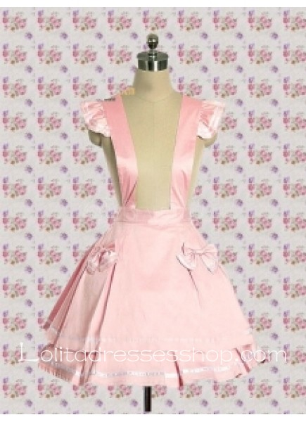 Short Cotton Sweet Lolita With Suspender Skirt Style