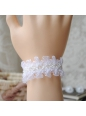 Lovely White Chiffon Beads Lolita Bracelet