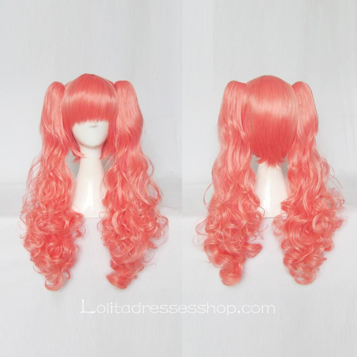 Lolita Curly Wig by Pink 65cm