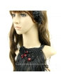 Gorgeous Black Lace Tassel Necklace