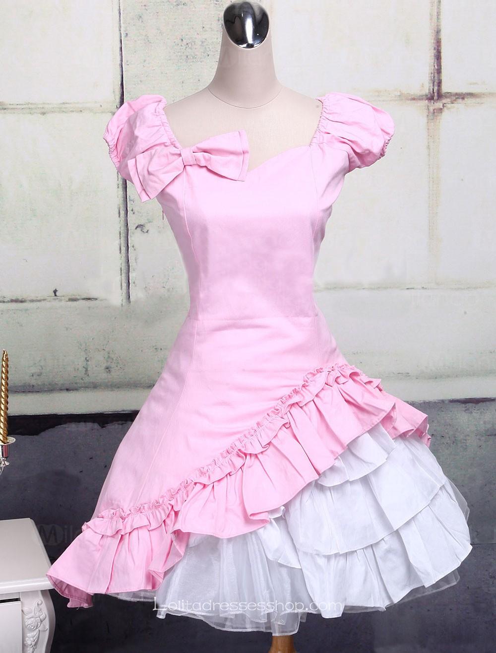 Pink Kimono Dress
