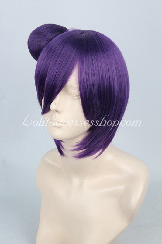 Naruto Konan Purple Cosplay Wig