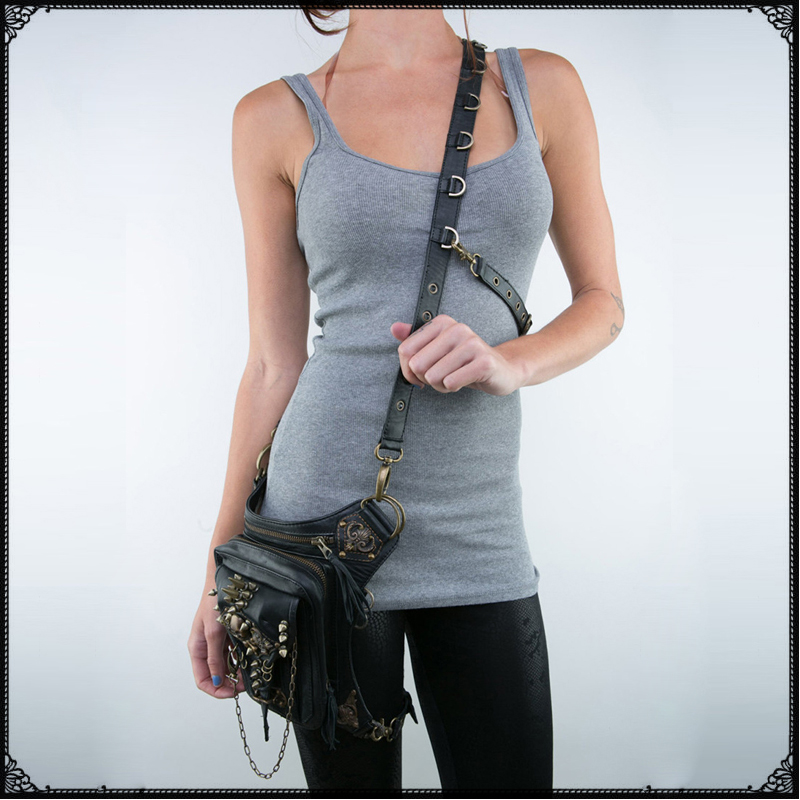 Fashion Casual Punk Skeleton Bag