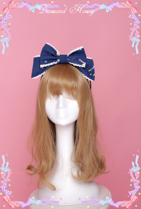 Concert cute doll bow KC headband